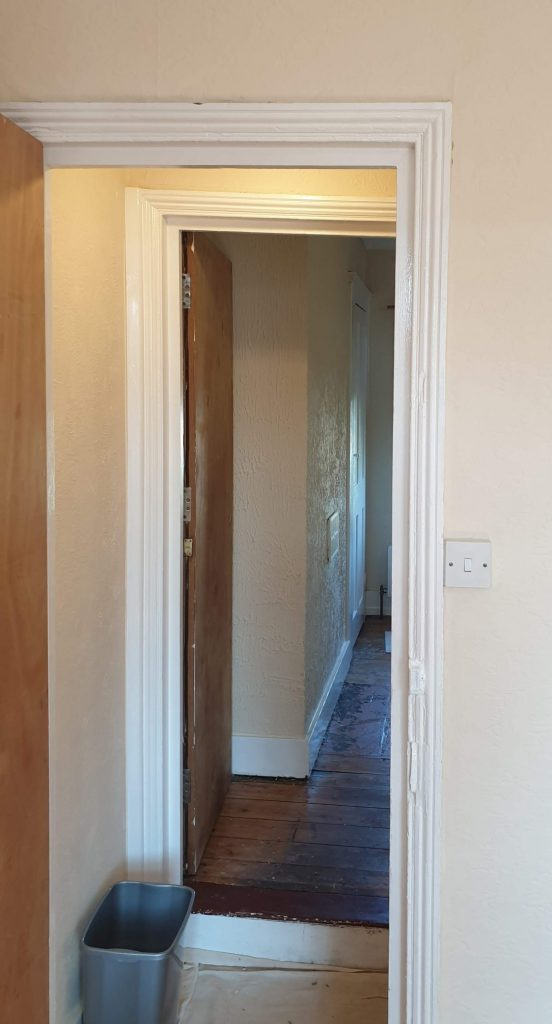 Both Architraves Repaired