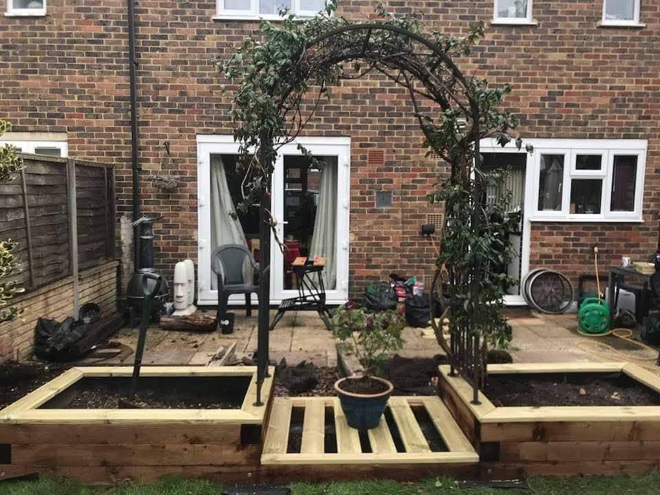 Handy Andy Garden Planters