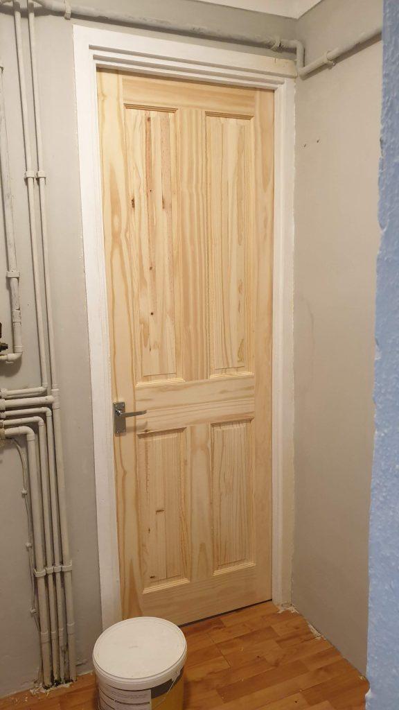 New Pine Door